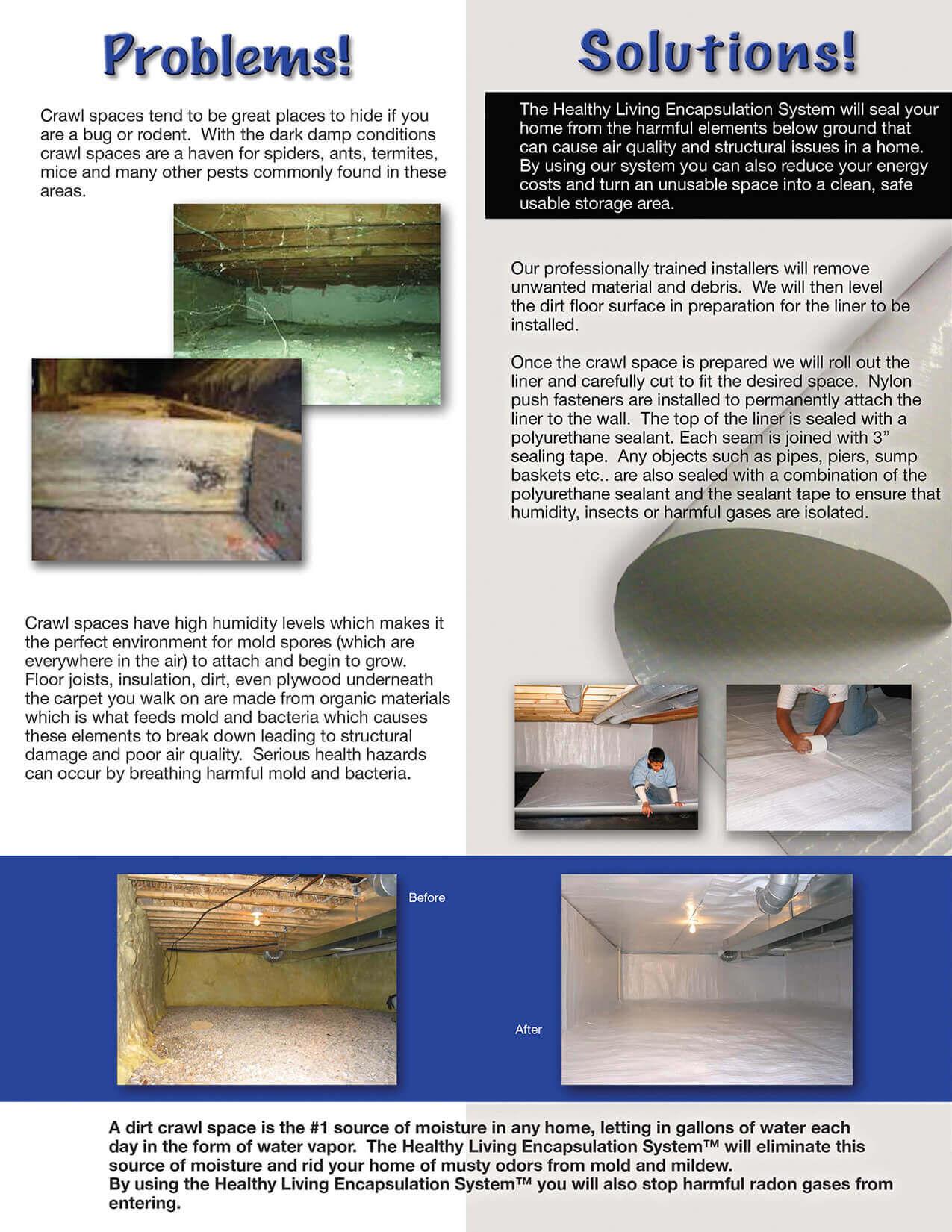 Vapor Barriers Crawl Space Encapsulation SafeBasements
