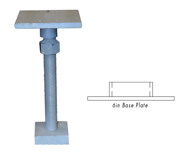 Stabilizer Kit With 6in Base Plate